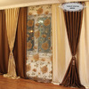Комплект готовых штор для зала 75