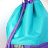 Рюкзак MOSHNA , большой. Цвет бирюзово-фиолетовый.