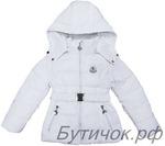 М.17-23 Куртка Moncler белая. . Размеры 98-128