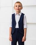 Школьная классическая жилетка для мальчика (рост 122 см)