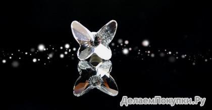 Украшение в разъём для наушников Бабочка