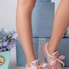 Кроссовки для девочки с декором