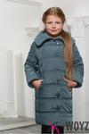 Детская зимняя куртка DT-8255-12, (Зеленый) - TM X-woyz