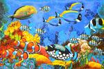 Пляжное полотенце (банное) Красное море