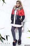 Демисезонное пальто в спортивном стиле разбавит яркими красками осенне-зимний лук.