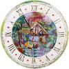 """Живая картина"""" ЖК-2107 """"Часы с домиком"""