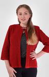 Жакет 014247 (красный) 7013