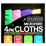 Набор салфеток из микрофибры (4 штуки)