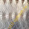Тюль вышивка на сетке 3050