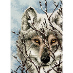 Dimensions Needlecrafts Counted Cross Stitch, Wolf