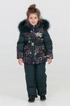 37072 Комплект для девочек, био-пух BILEMI Зима