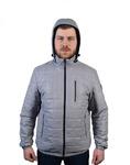 Демисезонная мужская куртка Модель СМ-50 Серый