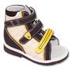 Обувь ОРТОДОН арт.2702 высокие берцы, выкладка свода, застежка типа тэйп.