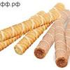АП Вафельные трубочки ассорти / цена за 0,5 кг