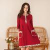 Платье женское Кулирка Этно с рукавом