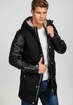 Куртка мужская переходная parka черная Denley 1681
