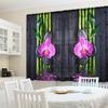 Фототюль для кухни Орхидея над водой