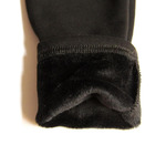 Теплые леггинсы 21001-BLACK