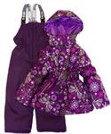 Зимний комплект (куртка+п/к)  на девочку. 51.12К