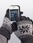 Перчатки из ангоры I Touch