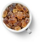 Сахар леденцовый коричневый, крупный, кубики