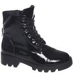 Ботинки деми для девочек INDIGO KIDS 51-467A черн