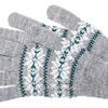 Норвегия 2с228-1 перчатки женские (серый меланж)