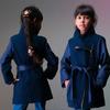 Кашемировые детские куртки для девочек