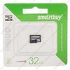 Карта памяти microSDHC 32Gb SmartBuy, Class10, без адаптера