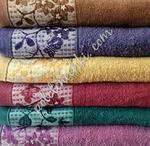 """Махровое лицевое полотенце """"Бутон"""""""