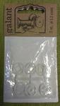 кнопки пришивные пластиковые 13 мм (3 шт в уп)
