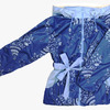 4230  Куртка для девочек на флисе