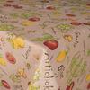 """3831-БЧ Скатерть 145*145 """"Овощной микс"""" рисунок 5022-01"""