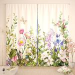 Фотошторы Акварельные цветы