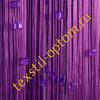Нитяные шторы однотонные с камнями кубик оптом цвет фиолетовый