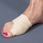Силиконовый протектор на тканевой основе с защитой первого пальца (пара)