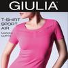 Футболка женская, Giulia, цвет черный!