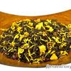 Черный чай с добавками Золотая жемчужина - чай с облепихой
