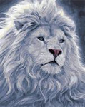 "РН GX23658 ""Белый лев"", 40х50 см"