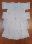 Рубашка крестильная для девочки