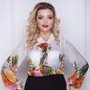 Блуза Расцветай