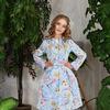 Летнее Пальто для девочки мод. 8095