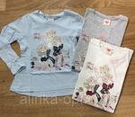 Реглан для маленькой модницы 98- 128