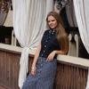 Платье из закупки льняной одежды