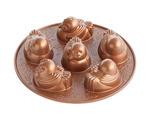 Nordic Ware 91048 Cast Bundt Bakeware Pan, Bronze
