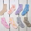 Детские хлопковые носки разных цветов с принтом  8с903
