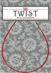 Тросик для съемных спиц ChiaoGoo TWIST RED Mini