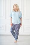 Костюм (блуза+брюки), арт. 0158