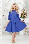 Платье 1242 (текстиль) размер 42-52