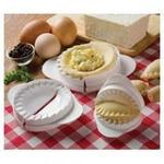 Набор из 3-х форм для приготовления пельменей,варенников,пирожков разного размера (пластик)